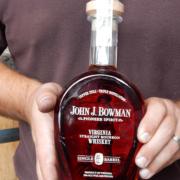 John J. Bowman Bourbon Whiskey distillery Fredericksburg, VA