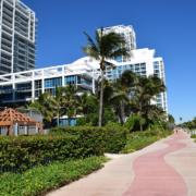 Miami North Beach Boardwalk