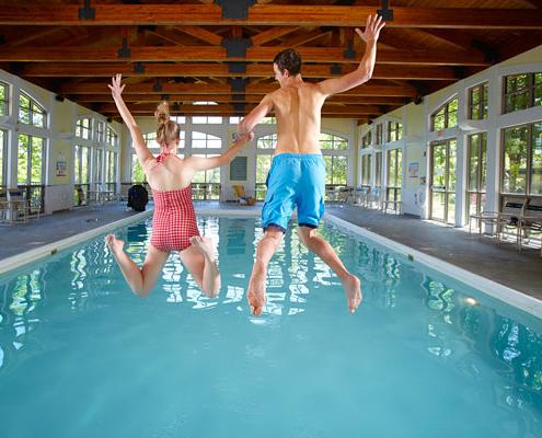 Punderson Manor Lodge indoor pool