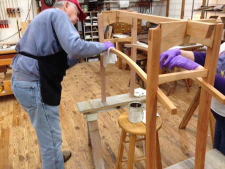Furniture maker Robert Ortiz