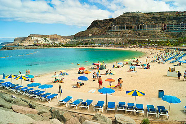 Amadores Beach on Gran Canaria