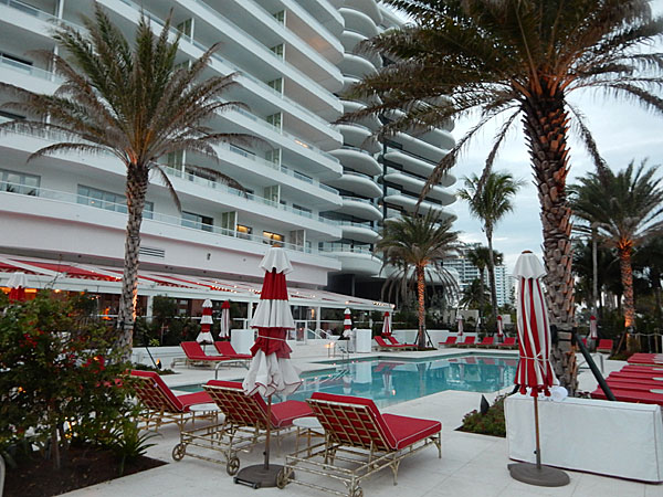 The Faena Hotel pool