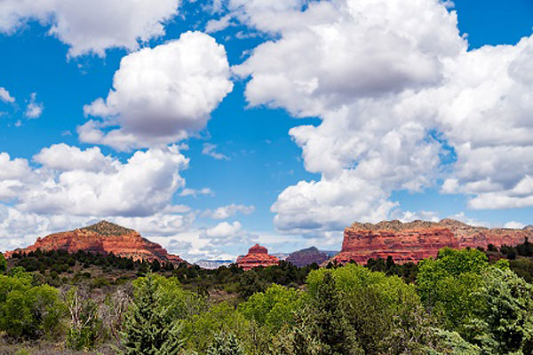 Sedona Red Rock Formations