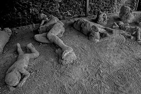 Pompeii frozen in time