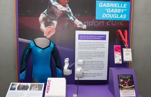 Gabby Douglas Exhibit Case