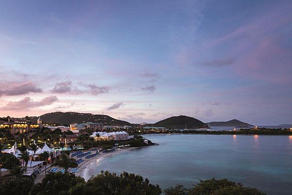 St Thomas Ritz-Carlton beach
