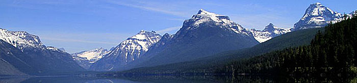 Lake in Glacier