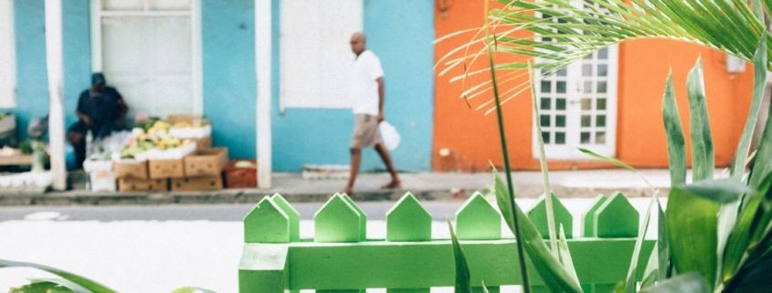color in Barbados