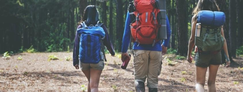 Hiking Hiker Destination Camping Backpacker Concept