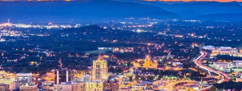 Roanoke, Virginia Skyline