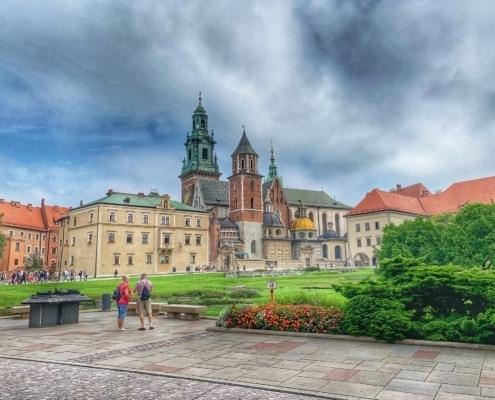 Wawel Royal Castle. Krakow, Poland